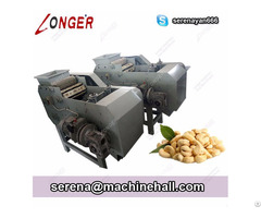 Cashew Nut Shelling Removing Machine