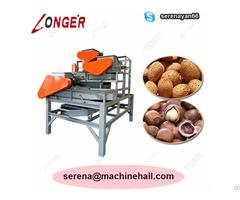Hazelnut Shell Cracking Machine Shelling Equipment