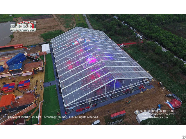 Large High Quality Aluminum Outdoor Event Transparent Tent