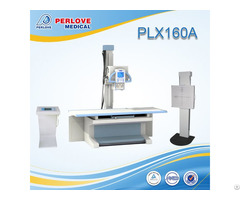 Ce Certificated Fixed X Ray Plx160a With Radiography Bed