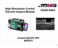 Mwir Cooled Infrared Thermal Imaging Camera Module 640x512 Pixel