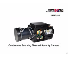 Mwir Cooled Mct Thermal Camera 15 280mm Continuous Zoom Lens