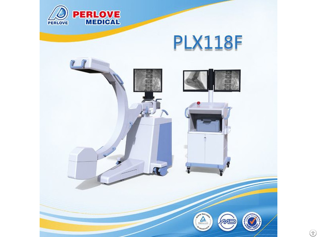 World Unique High Frequency C Arm Plx118f With Fpd