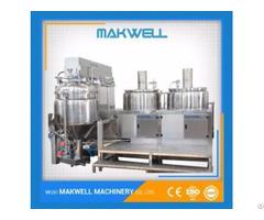 Mayonnaise Food Mixer Machine