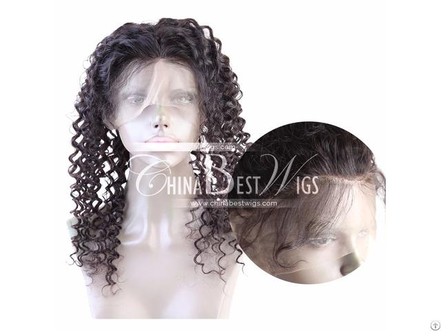 Curly Virgin Hair 360 Frontal