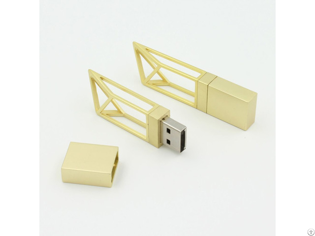 Mini Tower Gold Building Usb Flash Memory Sticks 1gb 2gb 4gb 8gb 16gb 32gb