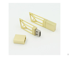 Mini Tower Gold Building Usb Flash Memory Sticks 1gb 2gb 4gb 8gb 16gb 32gb