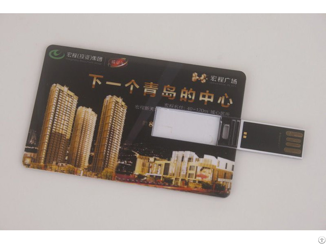 Credit Cards Usb Flash Memory Printing Property Advertisments