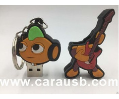 Rock Bands Usb Drive Music Artists Flash Disk 8gb With A Guitar