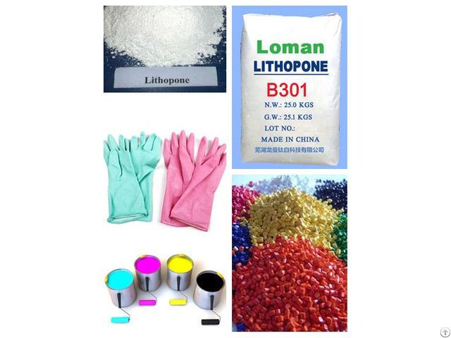 Hot Sale Loman Lithopone B301 From China