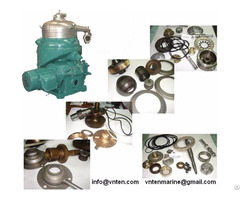Supply Purifier And Clarifier Parts