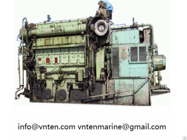 Supply Used 2nd Hand Diesel Engine And Generator Set