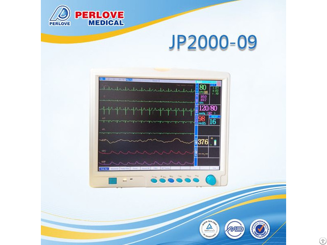 Patient Monitor Jp2000 09 For Vital Signs Monitoring
