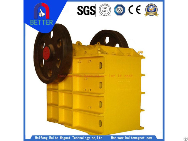 High Quality Jaw Crusher For Cement Plant
