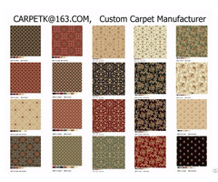 China Customize Customise Residential Home Wilton Printed To Wall Carpet Company