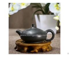 High Quality Pottery Pure Dust Free Sapphire Handmade Maestro Kungfu Tea Pot 120ml