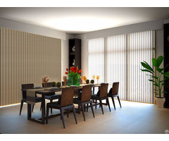 Motorized Sheer Vertical Blinds