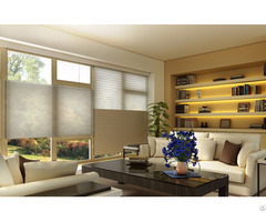 Motorized Top Down Bottom Up Cellular Shades