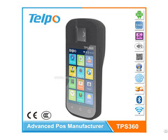 Tps360 Mobile Handheld Touch Screen Pos Terminal With Fingerprint