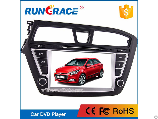 Huizhou Manufacturer Touch Screen Car Dvd Player For Hyundai I20