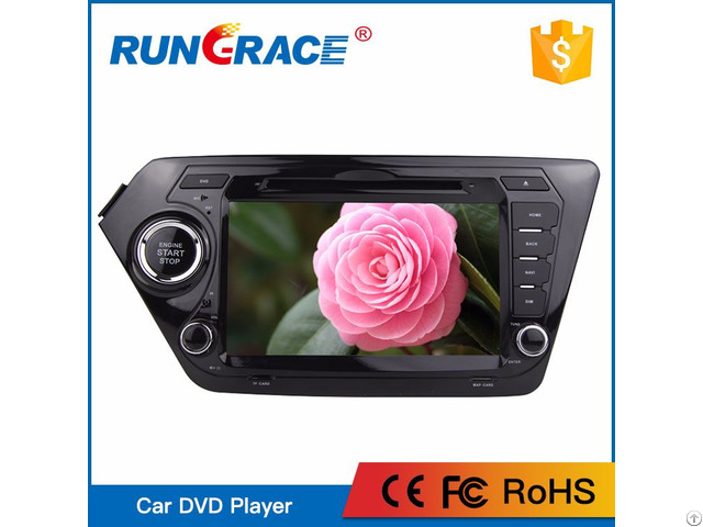 China Rungrace 8 Inch Mp3 Player Multimedia Car Stereo For K2