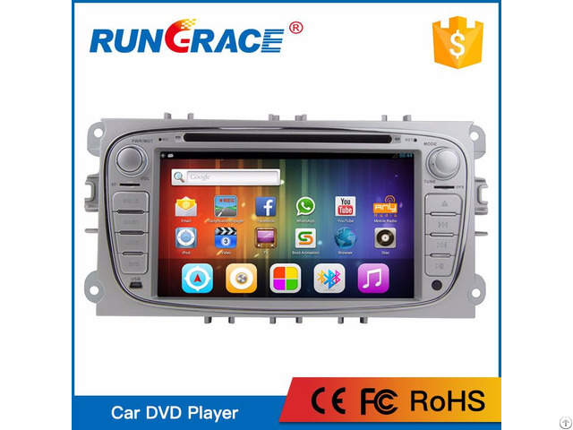 Most Popular 7 Inch 2 Din Car Audio System For Ford Focus