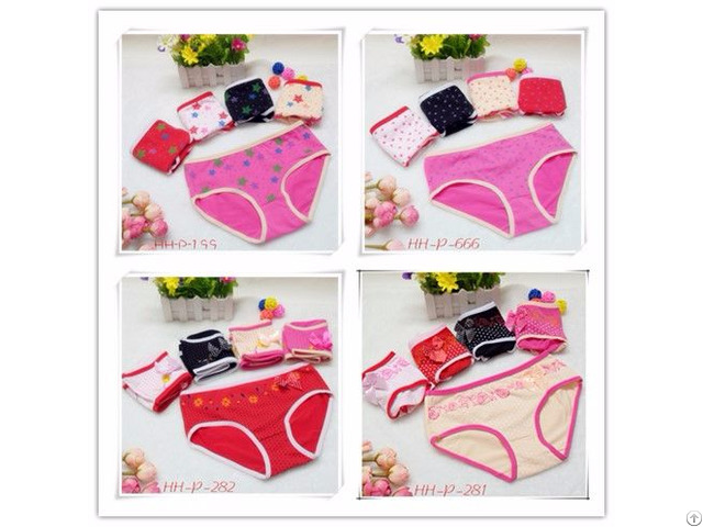 Cotton Briefs For Yong Girls