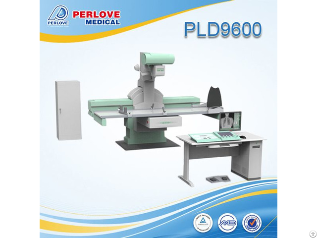 Chinese Advanced Digital Gastrointestional Fluoroscope X Ray Unit Pld9600