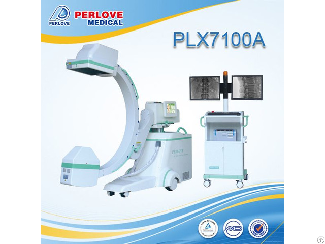 Middle C Arm X Ray System Plx7100a For Angiography