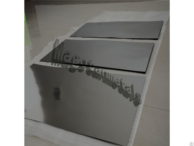 Molybdenum Plate Sheet