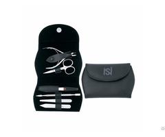 Professional Manicure And Pedicure Black Set