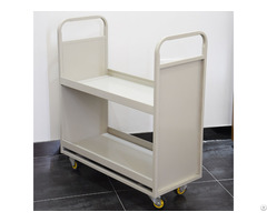 Mobile Steel Library Trolley Pictures For Sale