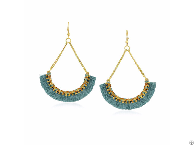 Being Human Women's Tassel Earring Pick The Best Accessory Out Of Your Jewelry Box