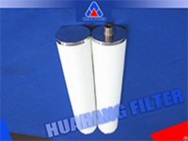 Light Weight Coalescer Water Separator Filter With Sock For Removing Oil From Steam