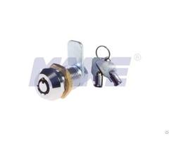 Zinc Alloy Brass Small Box Cam Lock Shiny Chrome