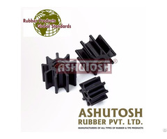 Rubber Impellers With Metal Inserts