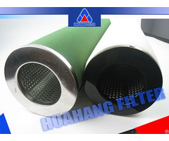 Oem Factory Gas Coalescing Filter Used For Compressed Natured