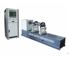 Hard Bearing Universal Joint Drive Dynamic Balancing Machine