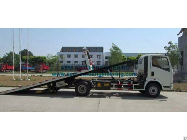 Car Carrier Flatbed Wrecker Tow Truck