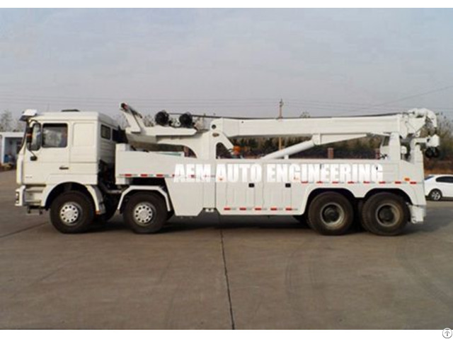 Road Recovery Wrecker Tow Truck