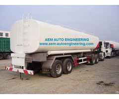 Tank Truck And Trailer
