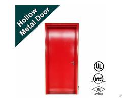 Ul10c Ul10b Nfpa252 Standard Steel Fire Proof Door With Panic Bar
