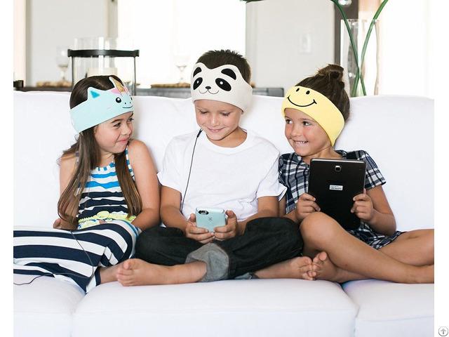 High Quality Kids Cute Sleep Colored Headphones