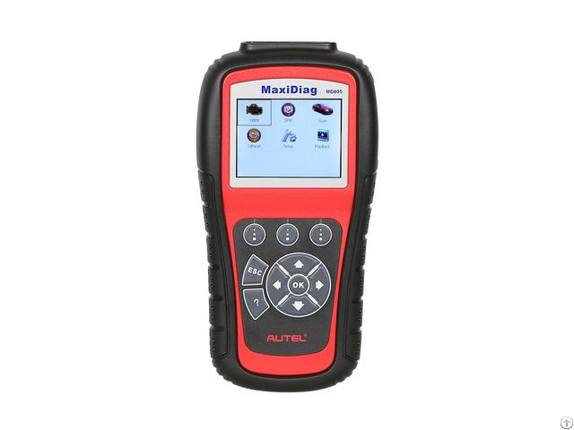 Original Autel Maxidiag Elite Md805 Code Reader All Systems Diagnostic Tool