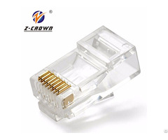 Rj45 Network Cable Connector For Cat5e Cat6
