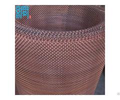 Copper Brass Corrugated Wire Mesh