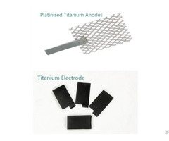 Titanium Mmo Anode For Salt Water Chlorinator