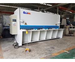 Qc12k Nc Hydraulic Swing Beam Shearing Machine Estun E21s System