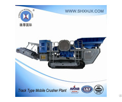 Track Type Mobile Crusher Plant With 120 180 Tph Capacity