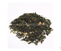 Premium Jasmine Dried Flower Tea Mix With Green Leaf